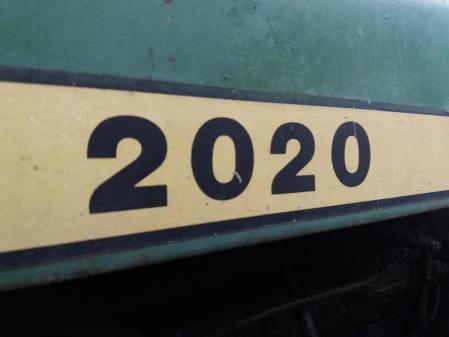 Capot moteur 2020